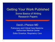 Getting Your Work Published
