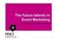 und Weiterbildung - Event Management Circle