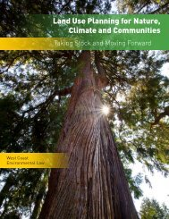 Land Use Planning for Nature, Climate and Communities