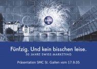 Präsentation SMC St. Gallen vom 17.9.05 - beim SMC Mittelland