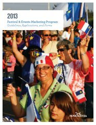 Festival & Events Marketing Program - Government of Nova Scotia