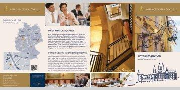Hotelprospekt als download - Welcome Hotels
