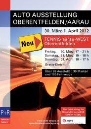 Programmheft - Auto Gewerbe Verband Schweiz: Sektion AG