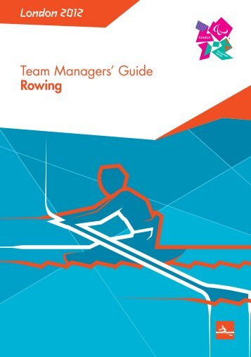 London 2012 Team Managers' Guide Rowing