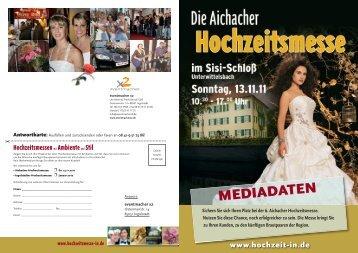 Mediadaten-Druck-2011:Layout 1 - Hochzeitsmesse Ingolstadt und ...