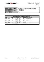 Requirements on Basic Software Module Description     - autosar