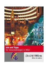 Info und Tipps für Veranstaltungen in Wien