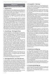 318 Allgemeine Geschäftsbedingungen - Volkshochschule Dresden