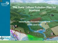 The Rural Diffuse Pollution Plan for Scotland - Programme3