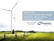 NAME OF EVENT TITLE OF PRESENTATION - 21. Windenergietage