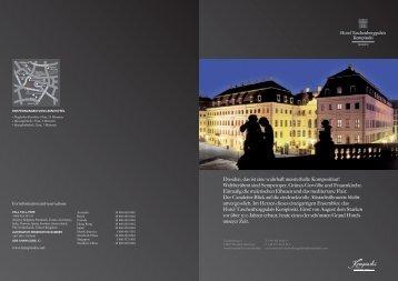 Dresden, das ist eine wahrhaft meisterhafte ... - Kempinski Hotels