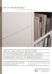 KöLN, MALLORCA, NEW YORK ST. PETERSBURG ... - Eggersmann