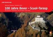 100 Jahre Bever - Scuol-Tarasp