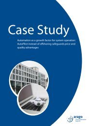 Case study - arago - The Automation Experts