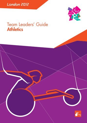 London 2012 Team Leaders' Guide Athletics