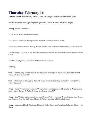 Print Festival Guide - Marginal Arts