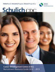 CDC - Schulich School of Business - York University