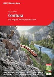Contura 2012 - Das Magazin der Rhätischen Bahn