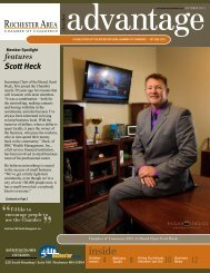 October 2012 - Rochester Area Chamber of Commerce