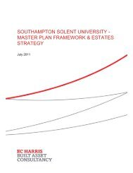 Download the Master Plan - Portal - Southampton Solent University