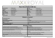 Concept Maxx All Inclusive - Aqua Travel