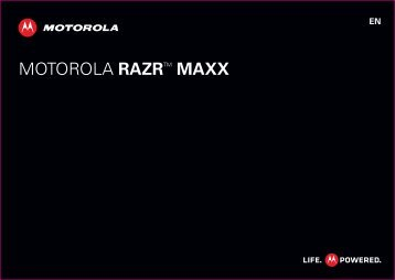 MOTOROLA RAZRTM MAXX - from Clove