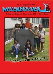 3. Ausgabe: Vor Gericht - KJG Diözesanverband Essen