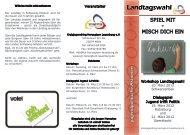 Flyer zum Download - Kreisjugendring Herzogtum Lauenburg