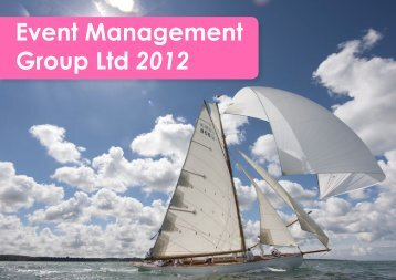 View our brochure online… - Event Management Group
