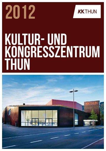 Kultur- und Kongresszentrum Thun - texter.ch