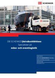 DB SCHENKERfairs&exhibitions - Mäss & Event Gruppen