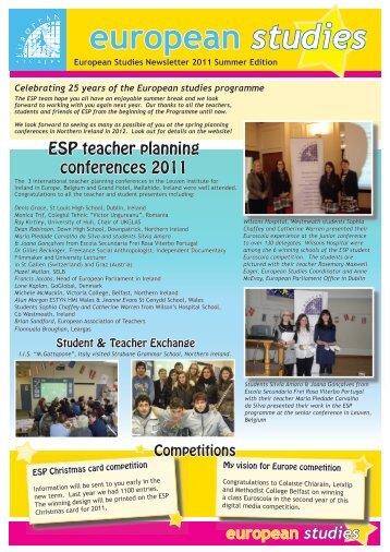 Summer 2011 - European Studies