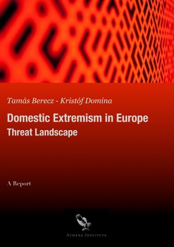 Domestic Extremism in Europe - Athena Institute
