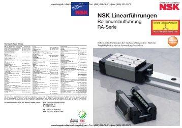 NSK Linearführungen