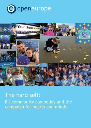 The hard sell: - Open Europe