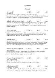 Weinkarte rot / offene Weine (PDF) - Gasthaus