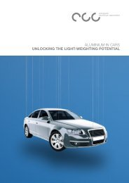 Aluminium in Cars – Unlocking the light-weighting potential