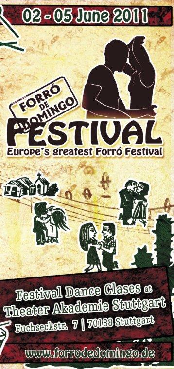 de Domingo Festival 2011 - Forró de Domingo
