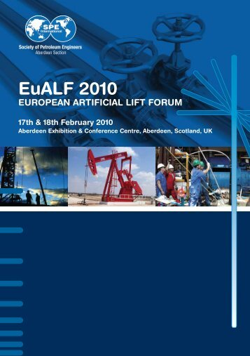 EuALF 2010 EUROPEAN ARTIFICIAL LIFT FORUM 17th ... - SPE