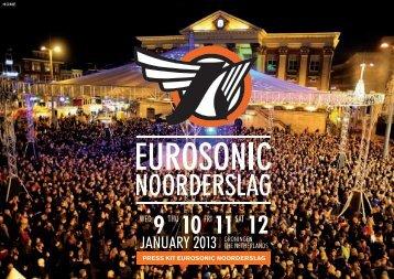 Download PDF presskit. - Eurosonic Noorderslag