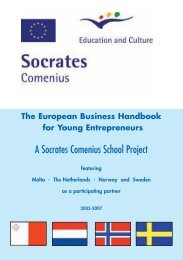 The European Business Handbook for Young ... - MCAST