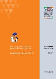 Unterrichten mit dem ESP 15+ - Using the European Language ...