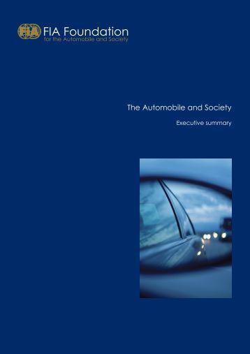 Download Executive Summary (PDF - 1mb) - FIA Foundation