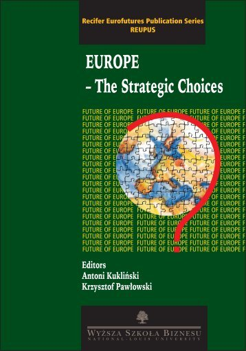 The Strategic Choices - Club of Rome