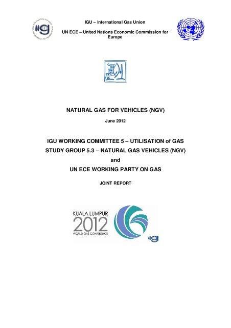 Natural Gas For Vehicles Ngv Igu Ngva Europe