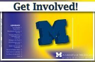 1 Contents - Student Orgs - University of Michigan