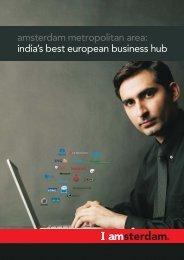 amsterdam metropolitan area: india's best european business hub