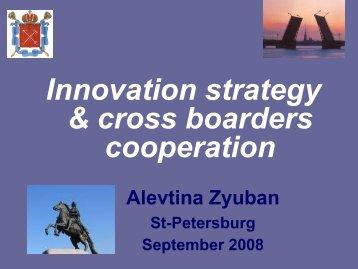 Ms Alevtina Zyuban, First pro-rector on scientific - BSSSC.com