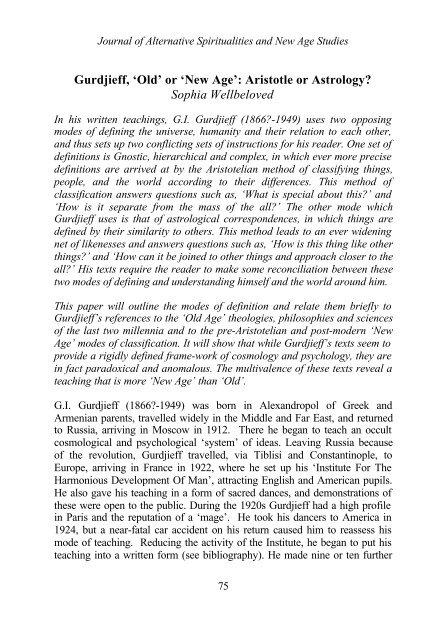 Journal for the Academic Study of Religion, Vol 27, No 3 (2014)