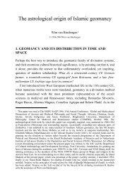 The astrological origin of Islamic geomancy - Shikanda.net